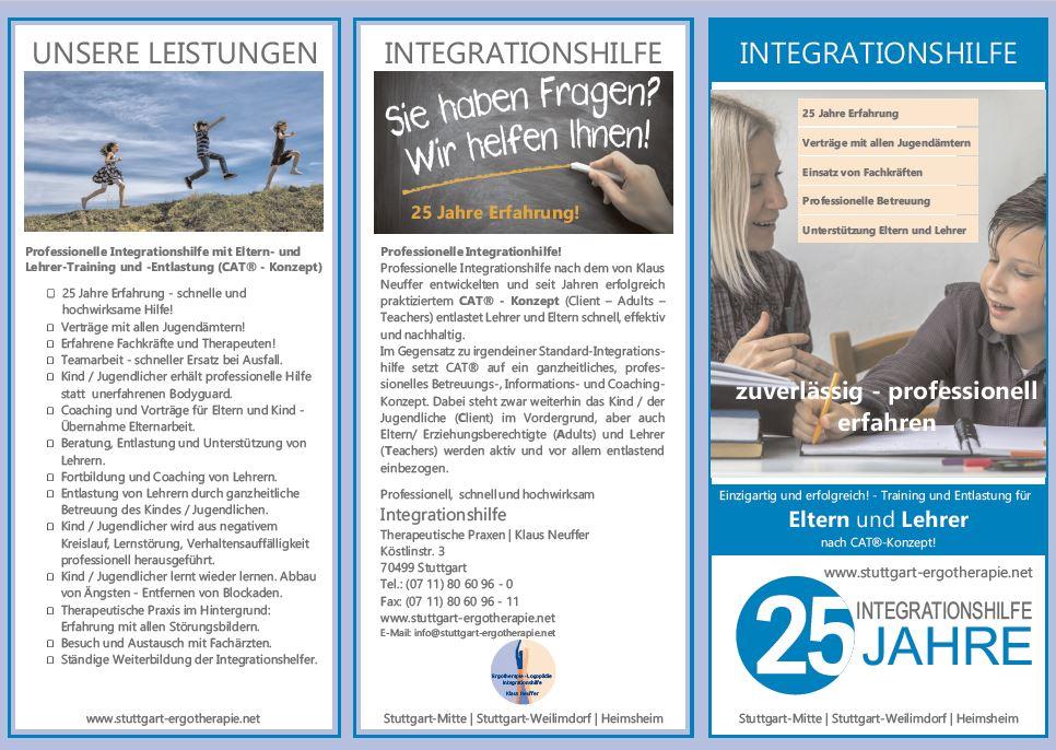 Integrationshilfe Inklusion Stuttgart Pforzheim Ludwigsburg Leonberg Heimsheim Böblingen Sindelfinen